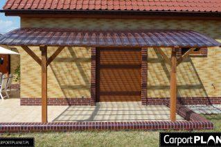 Balustrada tarasu drewniana Przemyśl