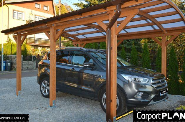 Zadaszenie na dwa samochody Piaseczno