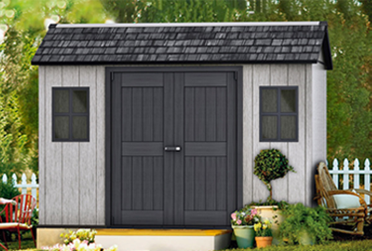GARDEN HOUSES AND TOOL CABINETS