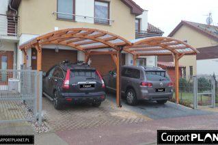 Zadaszenie na dwa auta montaż Kraków