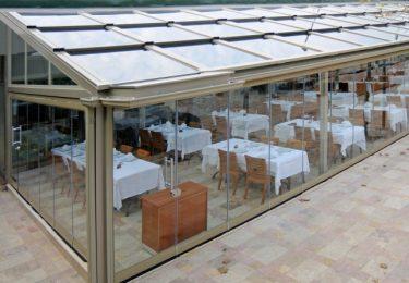 Zabudowa całoroczna restauracji