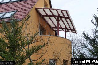 Zadaszenie nad balkonem montaż Wałbrzych