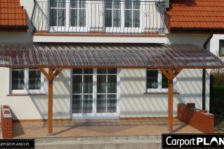 Zadaszenia tarasów pod balkonem Świnoujście