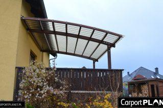 Zadaszenie tarasu przy domu montaż Toruń