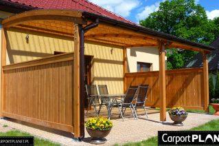 Taras drewniany zadaszony montaż Radom