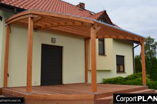 Zadaszenie tarasu drewnianego Sandomierz