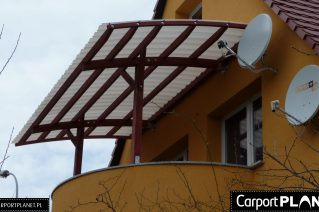 Pergola tarasowa montaż Piła